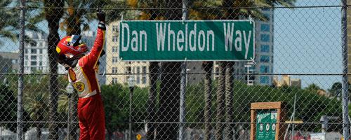Helio at Dan Wheldon Way