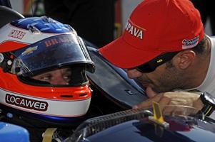 Tony Kanaan and Rubens Barrichello