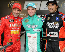 Kanaan, Rubens, and Rafa race in Brazil