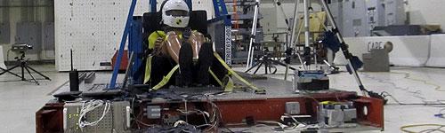 Crash Test Lab Sled