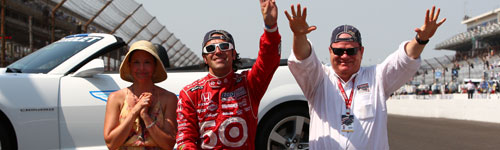 Dario Franchitti Wins 2012 Indy 500