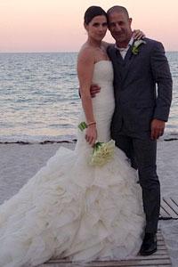 Mr. & Mrs. Tony Kanaan