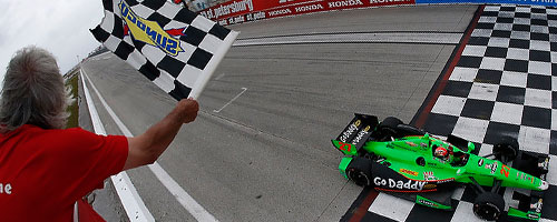 Barbieri waves checkers for James Hinchcliffe