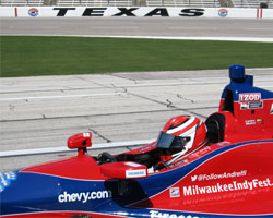 Carlos Munoz tests at Texas
