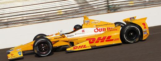 Kurt Busch on track at IMS
