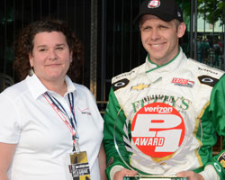 Carpenter awarded Verizon P1 Award