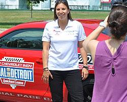 Simona De Silvestro in Detroit