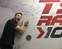 James Hinchcliffe in Toronto