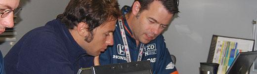 Luca Filippi with team
