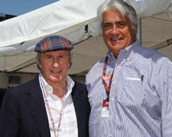 Mark Miles and Sir Jackie Stewart
