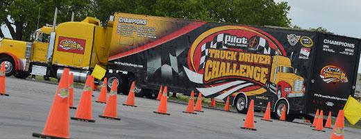 INDYCAR Truck Driver Challenge
