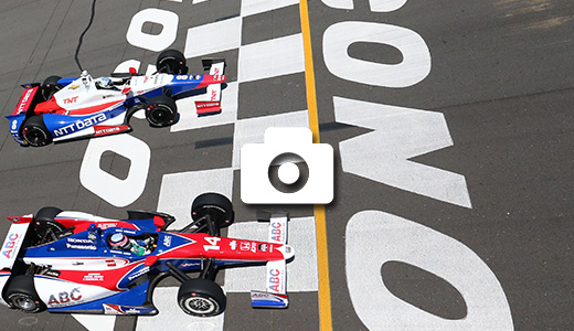 Takuma Sato and Ryan Briscoe