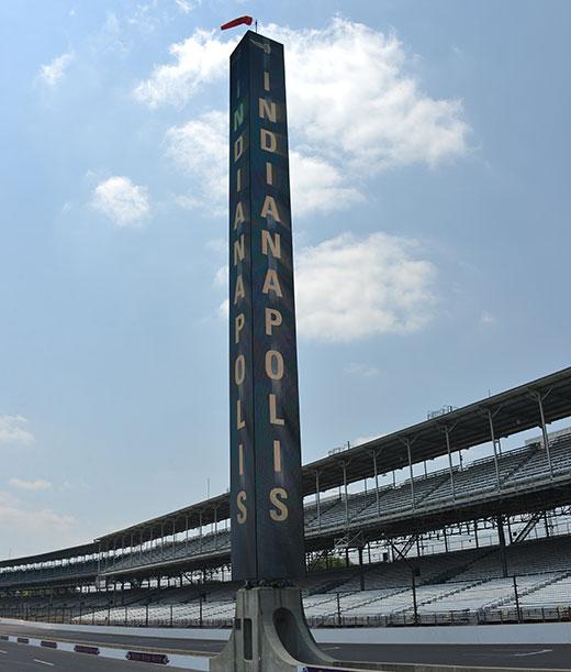 Indianapolis Motor Speedway Pylon
