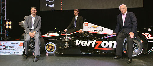 Will Power, Tim Cindric, Roger Penske
