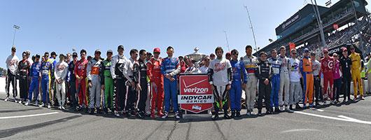 Verizon IndyCar Series Drivers