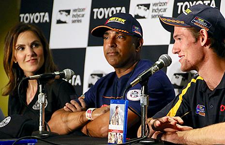 Taya Kyle, Sonny Saghera, and Matthew Brabham