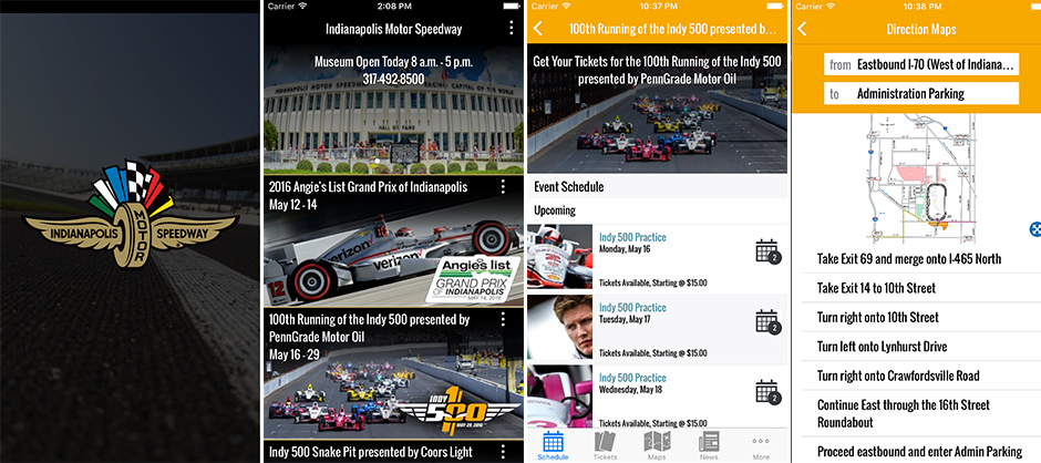 Indianapolis Motor Speedway App