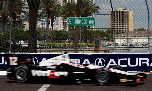 IZOD IndyCar Series Friday Practice Results