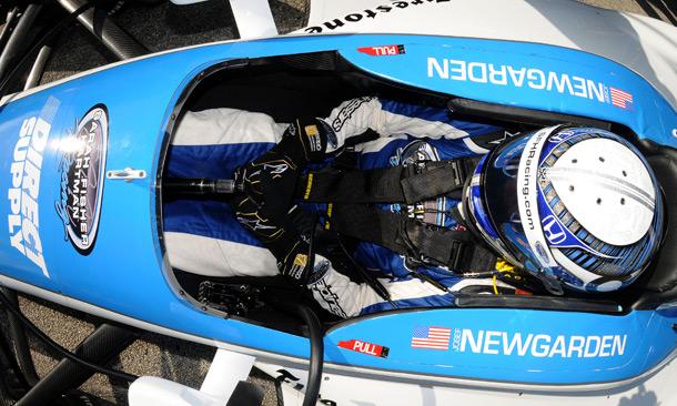 Josef Newgarden at Sebring test