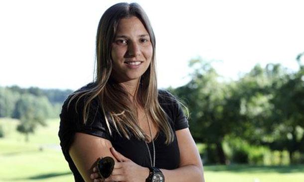 Simona visits Augusta National