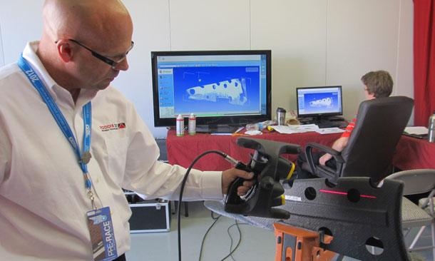 Laser Equipment Scanning