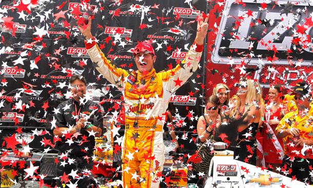 Ryan Hunter-Reay Wins In Toronto