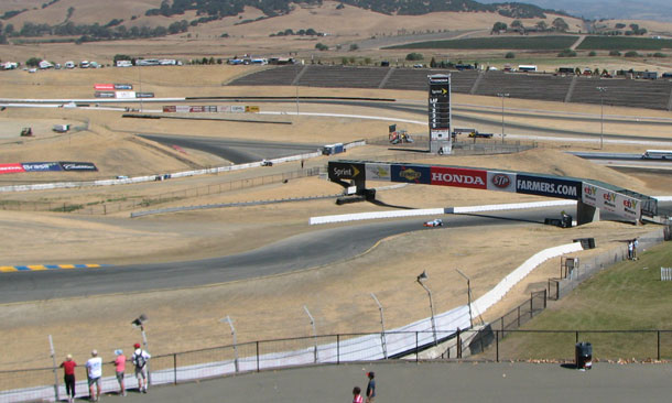 Hot Spots at Sonoma - Turns 1 and 2