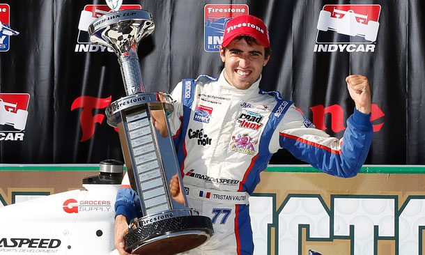 Tristan Vautier Wins 2012 Firestone Indy Lights Title
