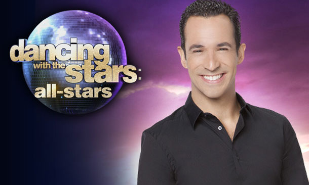 Behind the DWTS Doors - Helio Castroneves