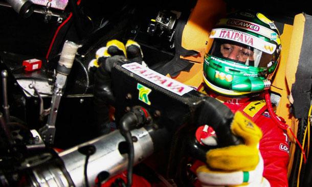 Tony Kanaan races in Brazil