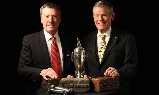 Johnny Rutherford and Bobby Unser