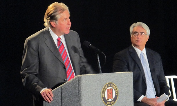 Jeff Belskus (left) and Mark Miles