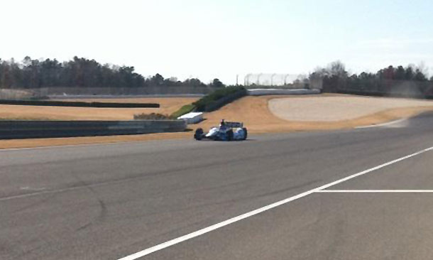 Pagenaud tests at Barber
