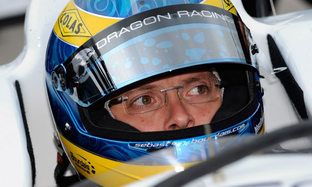 Sebastien Bourdais with Dragon Racing in 2013