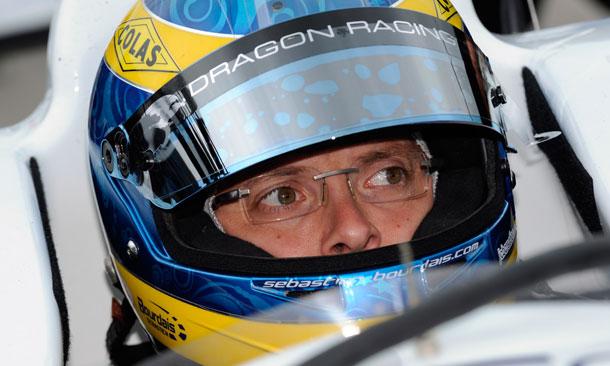 Sebastien Bourdais with Dragon Racing in 2013