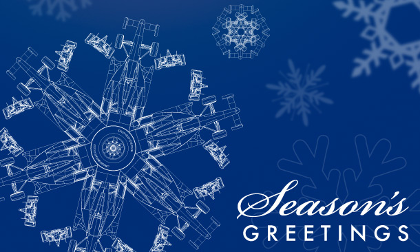 Seasons Greetings from INDYCAR