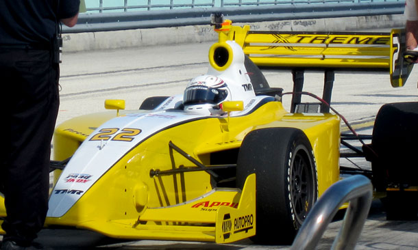 Grenier runs at Homestead Open Test