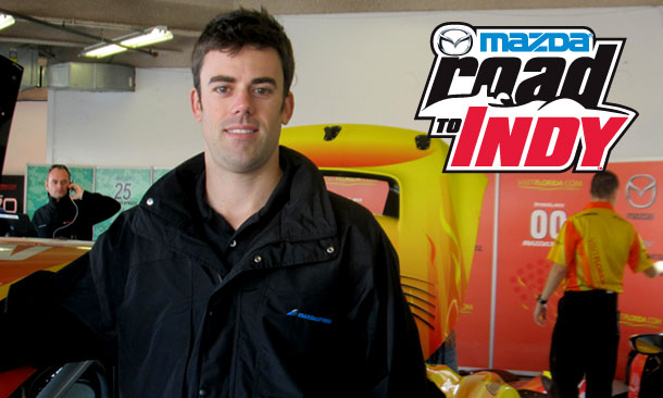 Joel Miller new driver coach for Mazda Road To Indy