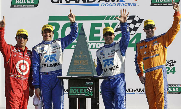 Kimball wins first Rolex24 at Daytona