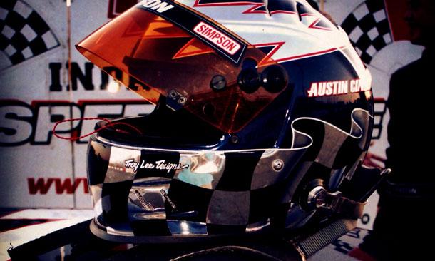 Austin Cindric helmet