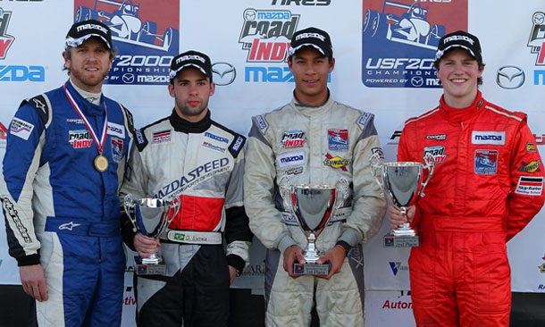 Winterfest 2013 - Race 1 Podium