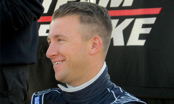 AJ Allmendinger testing at Sebring