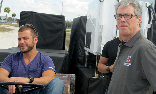 Viso has first test with Andretti
