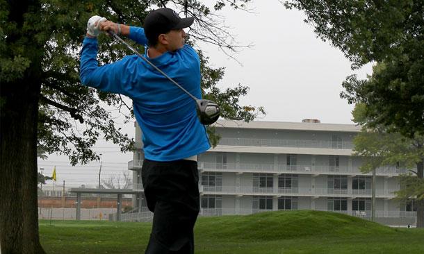 Graham Rahal in Honda Classic golf event