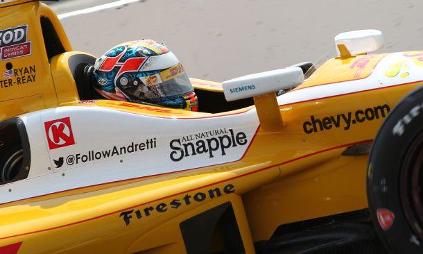 Hunter-Reay P1 in Practice 1 at St. Pete