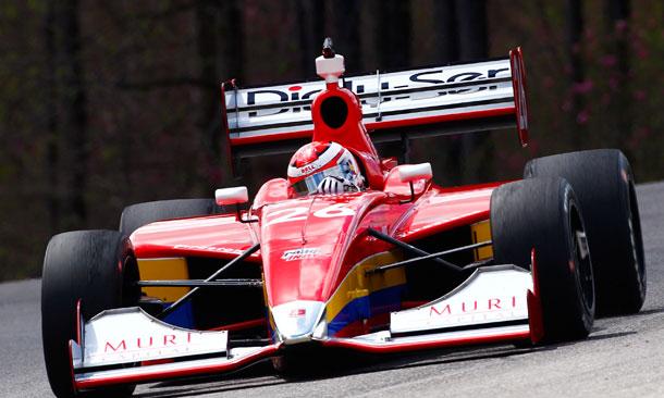 Carlos Munoz at Barber Motorsports Park