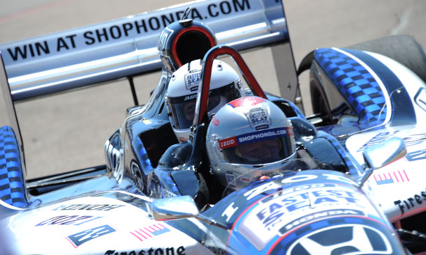 Two-Seater With Mario Andretti