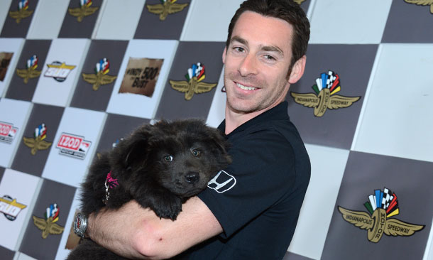 Simon Pagenaud with Hufflepuff