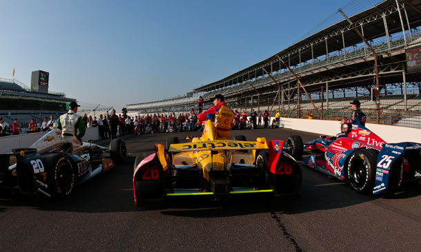 2013 Indianapolis 500 - Verizon Front Row