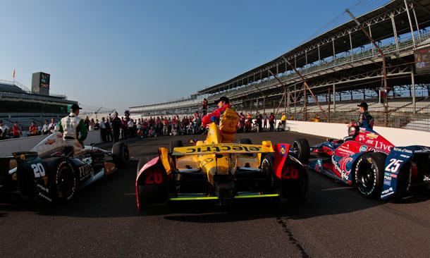 2013 Indianapolis 500 - Verizon Front Row